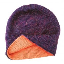 Beanie hat, two-layer