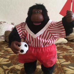 Cântând fanii maimuță