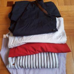 Рубашки мужские пакетом