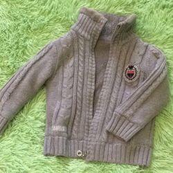 Детская тeплая куртка кофта