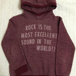 Zara sweatshirt 134-140r. For the boy.