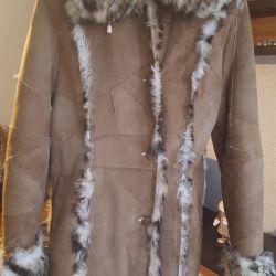 Πολύ όμορφο παλτό από δέρμα προβάτου