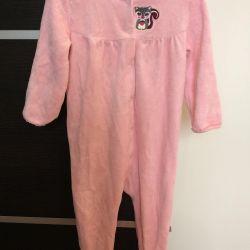 Children's velor jumpsuit (slip)