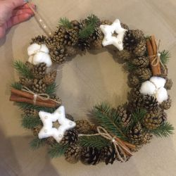 New Year's wreath to order handmade