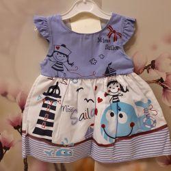 Платье новое нарядное детское