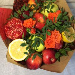 Μπουκέτα με φρούτα