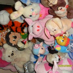 Stuffed toys or piece by piece Exchange