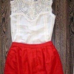 New skirt, french designer