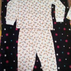 Pajamas, 100% Cotton