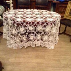 Handmade tablecloth. Europe