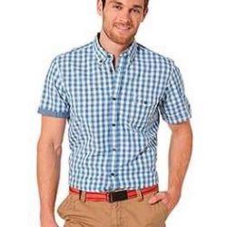 Новая рубашка 100% лeн CottonField