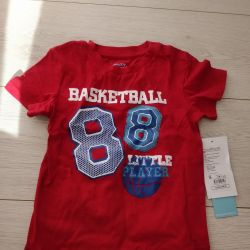 New T-shirt for a boy