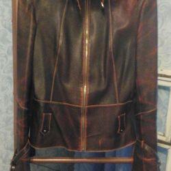 Jacket genuine leather 42 - 44 size
