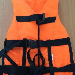Life jacket and protective on water Russia