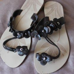 sandals genuine leather England