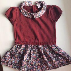 Rochie cu imitație de bluză 92r.