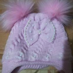 Children's hats, winter