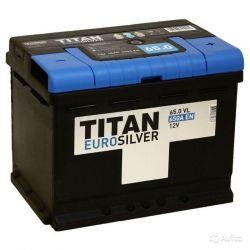Baterie Titan erosilver 65 Ah arr. sex (- +)