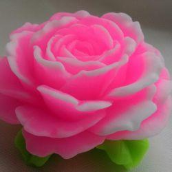 Handmade soap, rose