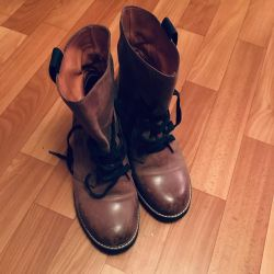 Boots genuine leather boots branded