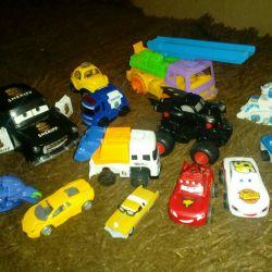 Cars, toys