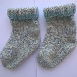 Wool socks, according to art. 15 cm