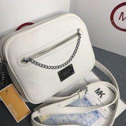 Michael Kors beyaz çantası