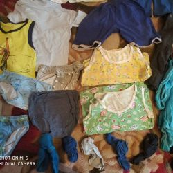 A package of clothes for a boy 4-5 years