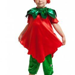 Children's carnival costume strawberry