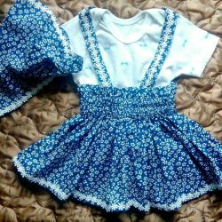 Dress and kerchief
