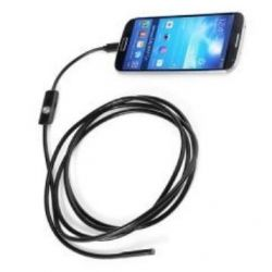 Endoscope flexible for PCs and androids with 2 m cord