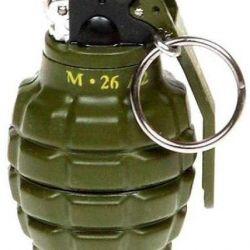 Lighter Keychain (Frag Grenade)