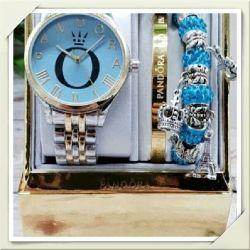 Женские часы с браслетами PANDORA