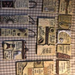 1 + 1 = 3 plăci ceramice cu inscripții