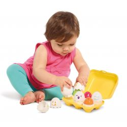 Tomy sorter (set) Find a squeaking egg from 12 months