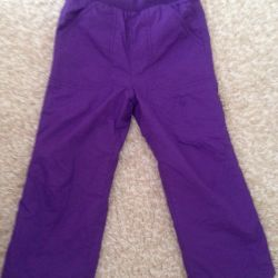 pants are warm 104 cm
