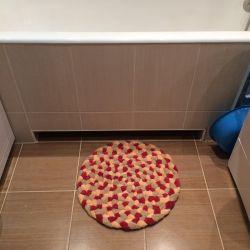 Exclusive mat. Handwork