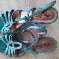 Sandals leather 40 size