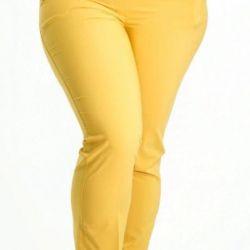 Πανέμορφο παντελόνι, διαφορετικά χρώματα, καλοκαίρι, 48-66.