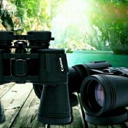Мощный бинокль Canon 70x70