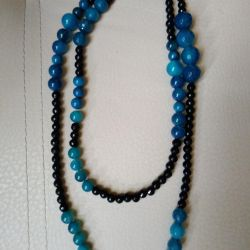 Beads faceted from Czech glass