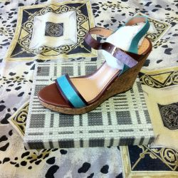 Sandals, 41r leather, not used