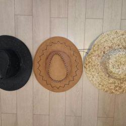 Шляпы 3 шт