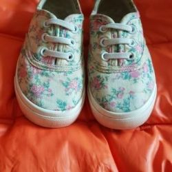 Colored sneakers