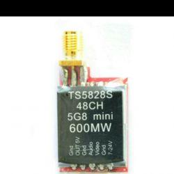 TS5828S Micro 5.8G 600mW 48CH Mini FPV передавач