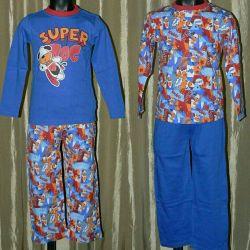 Pijama Takımı (Uzun Kollu Pantolon + Tişört