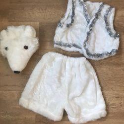 Christmas teddy bear costume