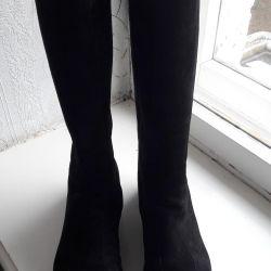 Women's suede boots (winter)