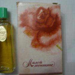 tatlı bir kadın için parfüm