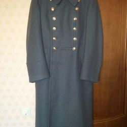 Overcoat of a KGB officer of the 80s